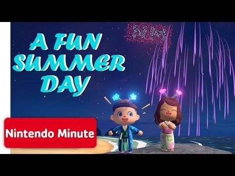 Animal Crossing: New Horizons – Summer Vlog