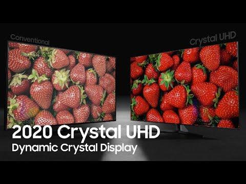 2020 Crystal UHD: Dynamic Crystal Display | Samsung