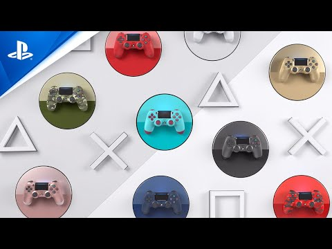 DUALSHOCK 4 Wireless Controller - Unleash Your Color | PS4
