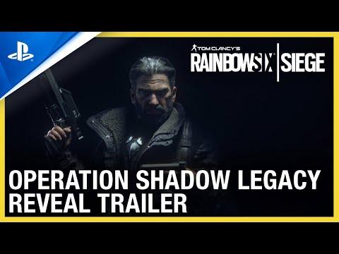 Rainbow 6 Siege: Operation Shadow Legacy - Reveal Trailer | PS4