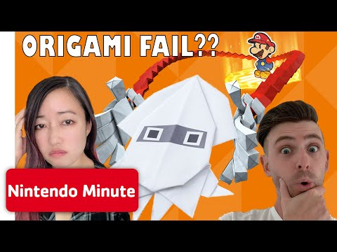 We Attempt EXPERT Paper Mario: The Origami King DIYs