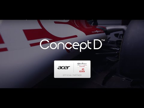 Alfa Romeo Racing ORLEN x ConceptD – Designed to Race | Acer