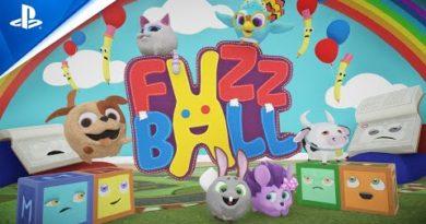 FuzzBall - Launch Trailer | PS4