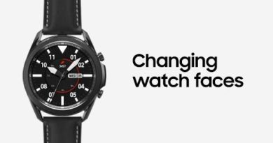 Galaxy Watch3: Changing watch faces | Samsung