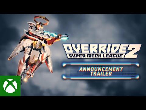 Override 2: Super Mech League - Announcement Trailer