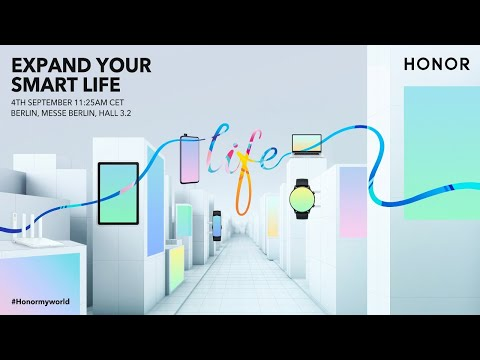 HONOR Global Press Conference: Expand Your Smart Life
