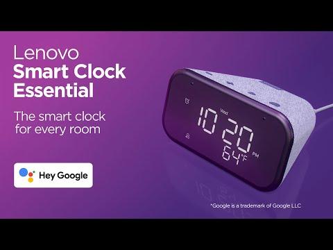 Lenovo Smart Clock Essential 360 – The smart clock for every room