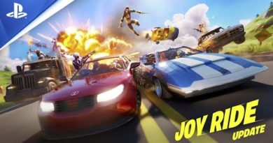 Buckle up with the Fortnite Joy Ride update, out today on PS4