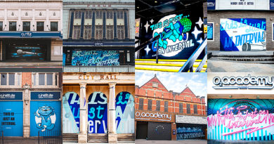 O2 venues across the country unveil new artwork celebrating live music