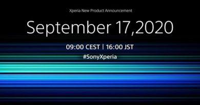 Xperia Announcement September 2020