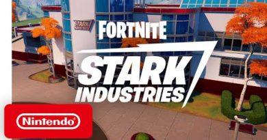Iron Man's Stark Industries Arrives In Fortnite - Nintendo Switch