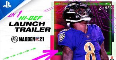 Madden NFL 21 - SZN 1: Hi-Def   PS4