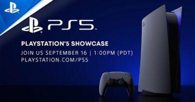 PlayStation 5 Showcase – Wednesday, September 16