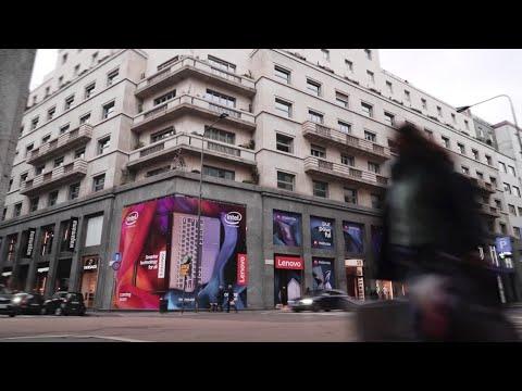 Spazio Lenovo: Lenovo's first concept store in Europe