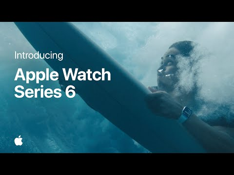 Introducing Apple Watch Series 6 — It Already Does That