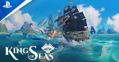 King of Seas - Gameplay Trailer | PS4