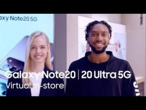 [Virtual In-store Experience] Galaxy Note20 | 20 Ultra