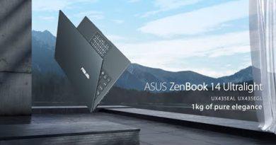 1kg of pure elegance - ZenBook 14 Ultralight | ASUS