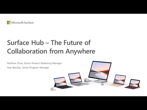 Surface Hub – The Future of Collaboration from Anywhere