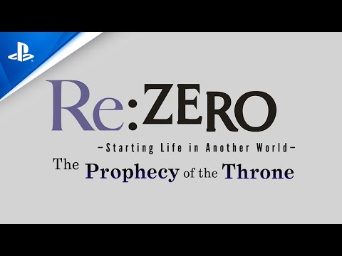 Re:ZERO - Starting Life in Another World: The Prophecy of the Throne - New Character Reveal | PS4