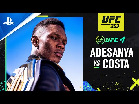 EA Sports UFC 4 - UFC 253: Israel Adesanya vs Paulo Costa | PS4