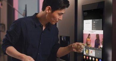 Smart Home: FamilyHub and Doorbell   Samsung