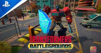 Transformers: Battlegrounds - Gameplay Trailer | PS4
