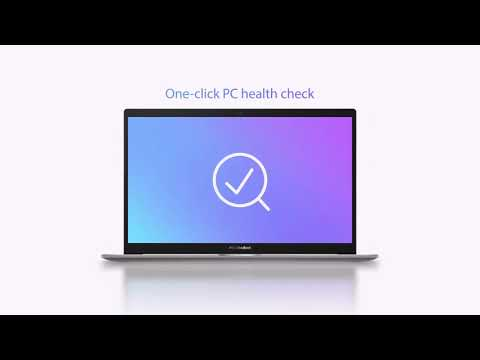 Thorough PC check with just a click with MyASUS app | ASUS