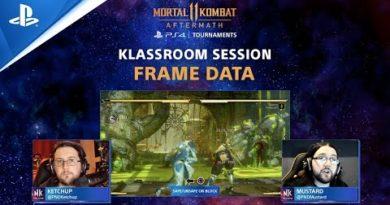 Mortal Kombat 11: Klassroom - Beginner's Guide: Safe Moves, Turns, & Hit Advantage   PS4
