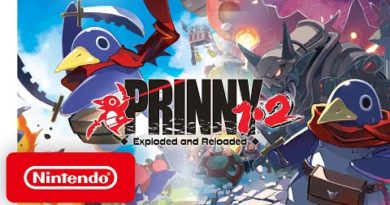Prinny 1•2: Exploded and Reloaded - Launch Trailer - Nintendo Switch