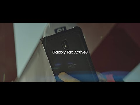 Galaxy Tab Active3 Feature Intro Film | Samsung