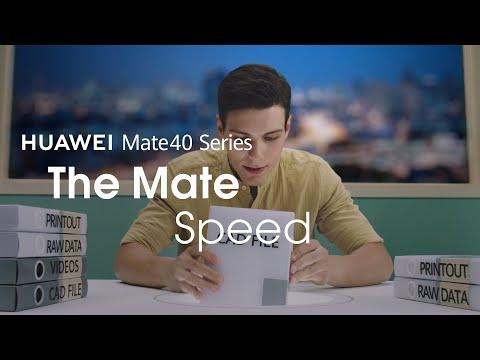 HUAWEI Mate 40 Series – The Mate Speed