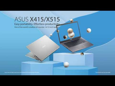 Easy portability. Effortless productivity. | ASUS Laptop (X415/X515)