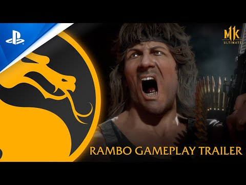 Mortal Kombat 11 Ultimate – Rambo gameplay reveal