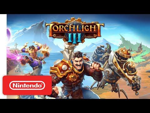 Torchlight III - Launch Trailer - Nintendo Switch
