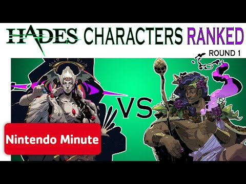 Hades Characters RANKED w/ Supergiant Games – Round 1
