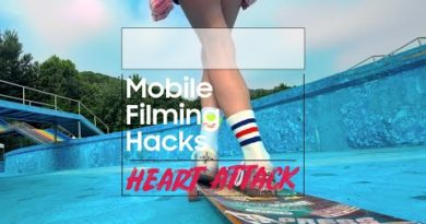 Mobile Filming Hacks: Low-angle tracking | Samsung