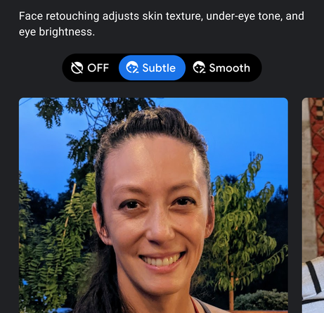 More controls and transparency for your selfies