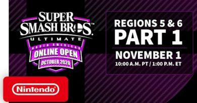 Super Smash Bros. Ultimate NA Online Open October 2020 - Finals: Regions 5 & 6 - Part 1