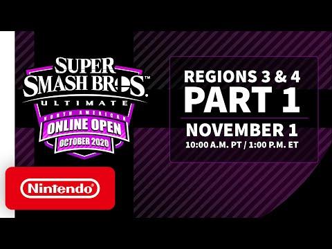 Super Smash Bros. Ultimate NA Online Open October 2020 - Finals: Regions 3 & 4 - Part 1