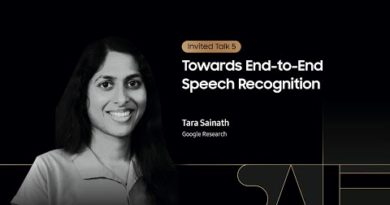 [SAIF 2020] Day 1: Towards End-to-End Speech Recognition - Tara Sainath | Samsung