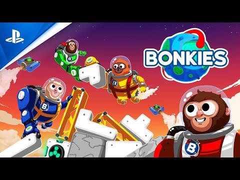 Bonkies - Cheer! Cooperate! Construct! Gameplay Trailer | PS4
