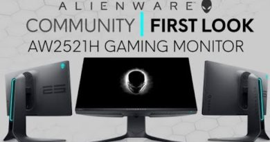 New Alienware AW2521H Gaming Monitor| Community First Look