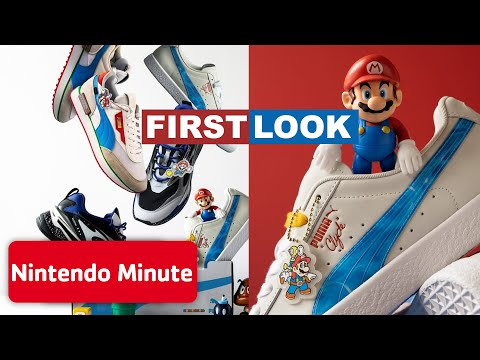 FIRST LOOK - Puma x Super Mario Collection