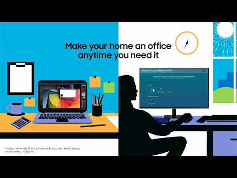 Smart Monitor: Work from home | Samsung