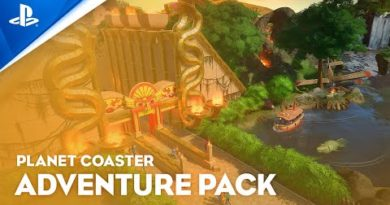 Planet Coaster: Console Edition - Adventure Pack Launch Trailer | PS5, PS4