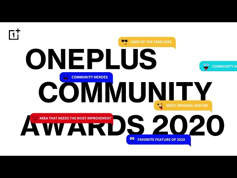 OnePlus Community Awards 2020 Preview