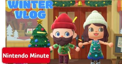 Animal Crossing: New Horizons Winter Vlog