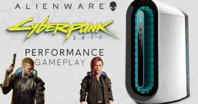 Alienware Aurora R11: CyberPunk 2077 Gameplay Performance + Ray Tracing