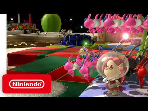 Pikmin 3 Deluxe - Festivity Trailer - Nintendo Switch